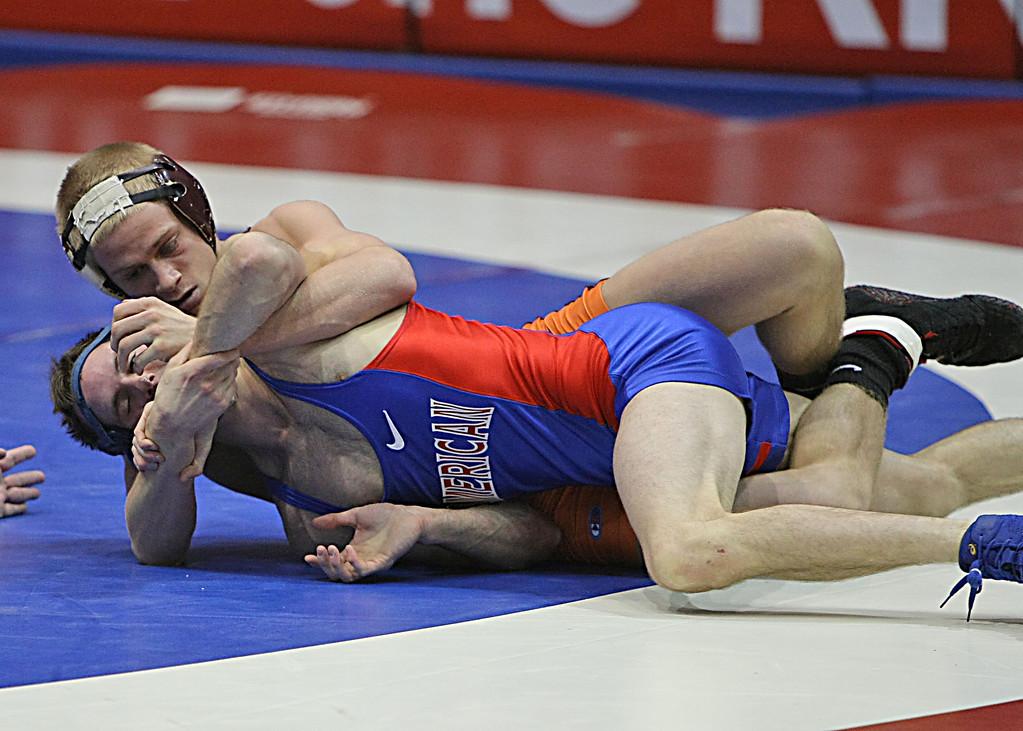 Virginia Tech - Devin Carter<br /> American - Corey Borshoff