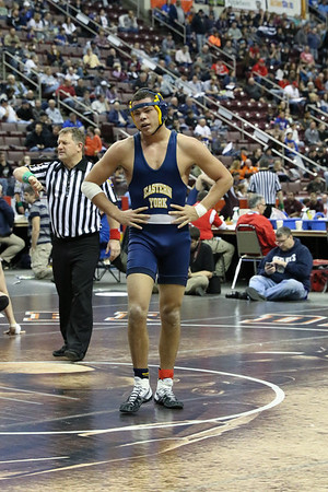 Jahshim Snyder 2017 States Wrestling at Giant Center