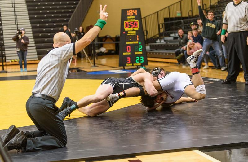 1/17/16 Maryland Wrestling, Jacob Morrisey