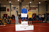 Nolan receiving third place at Dubuque.