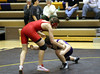 Gavin going for a take down against Davenport West