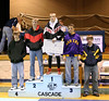 Eric receiving fourth place at Cascade tournament.
