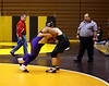 Hiram trying to get a takedown at Riverdale