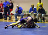 Colin trying to turn his Davenport North opponent.