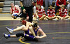 Josh Greenley in match against West at Muscatine