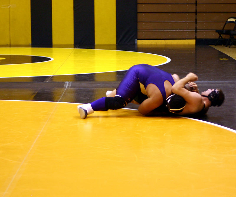 Hiram trying to get the pin