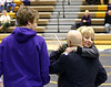 Joe Taylor with mom Judy giving the coach a big hug.