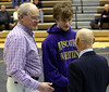Randy and Joe Taylor with coach Eggenburg