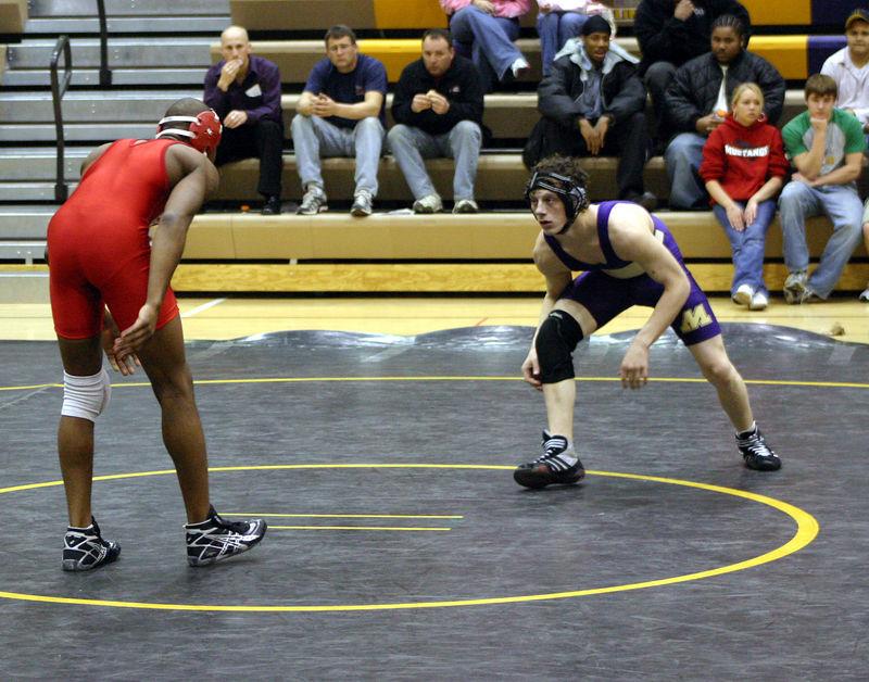 Josh Arnold against Davenport West