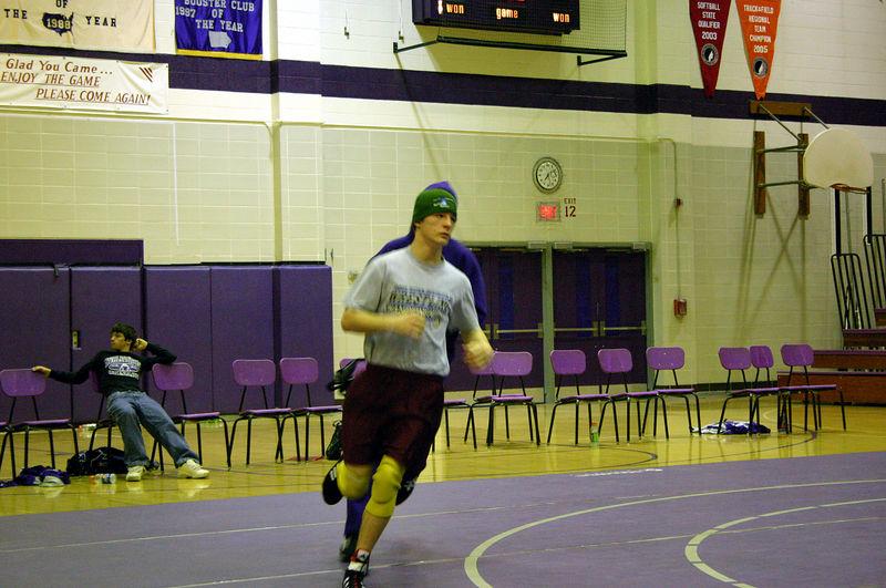 Colin running