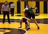 Gavin shoots for the takedown at Riverdale