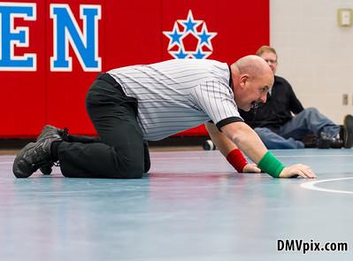 Wrestling @ Marshall (09 Jan 2014)