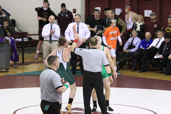 Robie Martin State Wrestling Match II  Win - Gallery II of III
