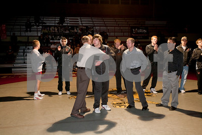 WSC Wrestling vs NM Highlands 2/15/11