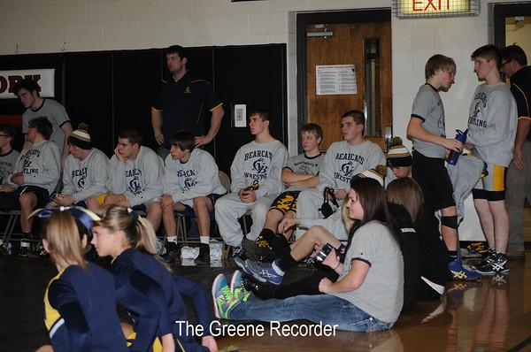 Wrestling at West Fork