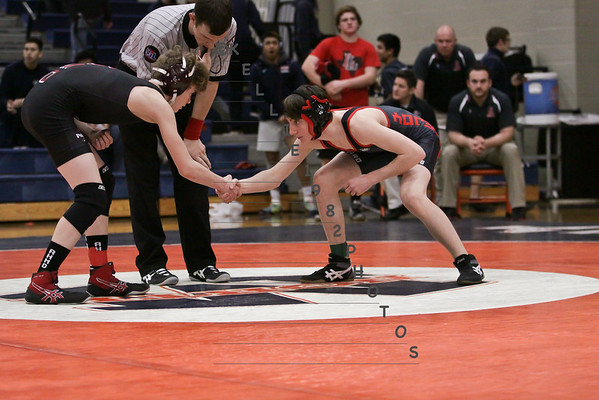 Wrestling Districts 2015 at MNHS 2-7-15