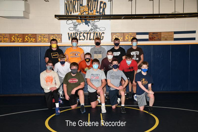 TGR_2910 Wrestling Team Photo