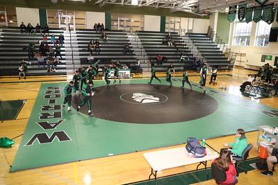 Yorktown @ Wakefield Varsity Wrestling (18 Jan 2020)