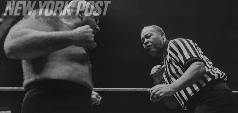 George 'The Animal' Steel VS. Joe 'The Brown Bomber' Lewis At MSG! 1975