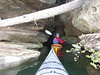 Kentucky cave paddling