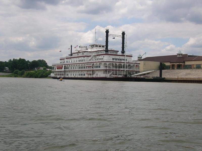 Ohio River near Rising Sun (IN)