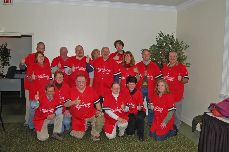 Team jerseys that celebrate exceeding 1,500 members