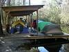 Swamp camping