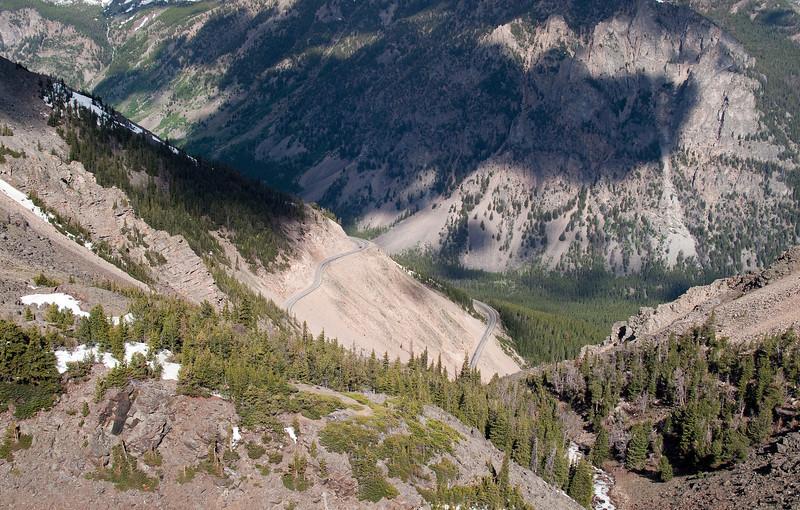 1/2 way up Beartooth Pass