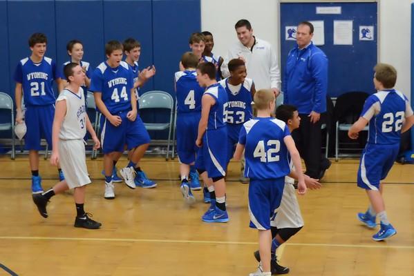 Wyoming MS Boys Basketball