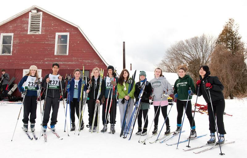 Last regular season race for the 2010/2011 NRHS XC ski team