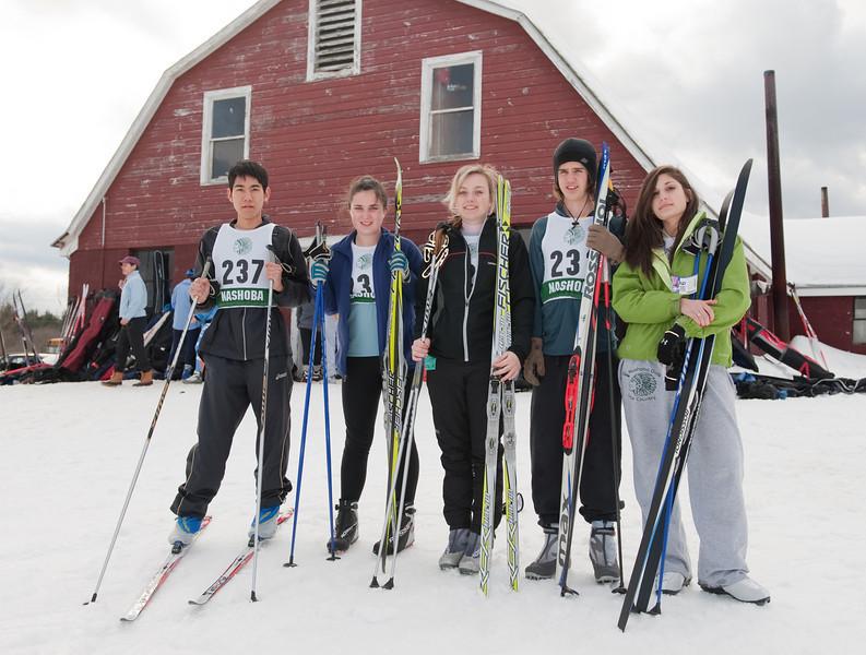 2011 XC ski team seniors