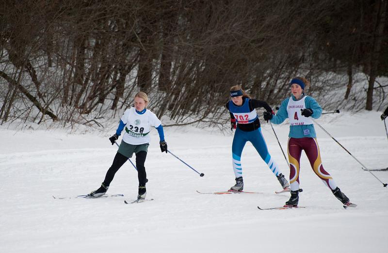 Abigail Hurd leading the pack