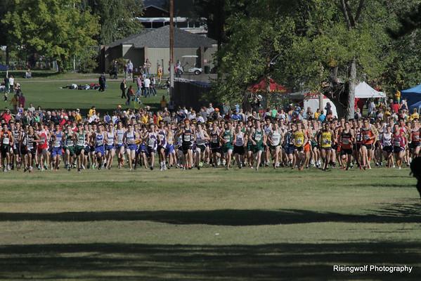 XC meet Missoula today 2000 total runners
