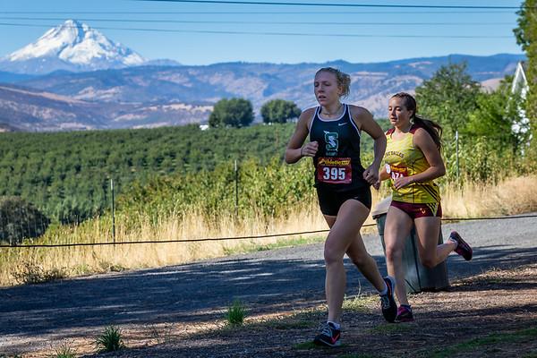 Bridgette Nelson XC race