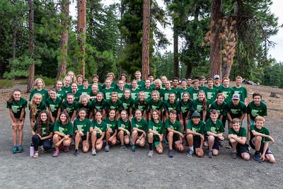 Summit High School XC relay