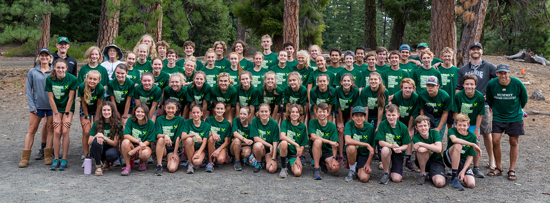 Summit High School XC relay