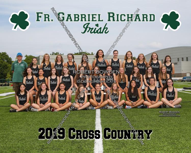 2019 FGR Girls CC Team 8x10