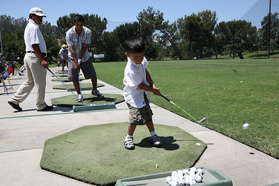 Xander's 2nd Golf Lesson