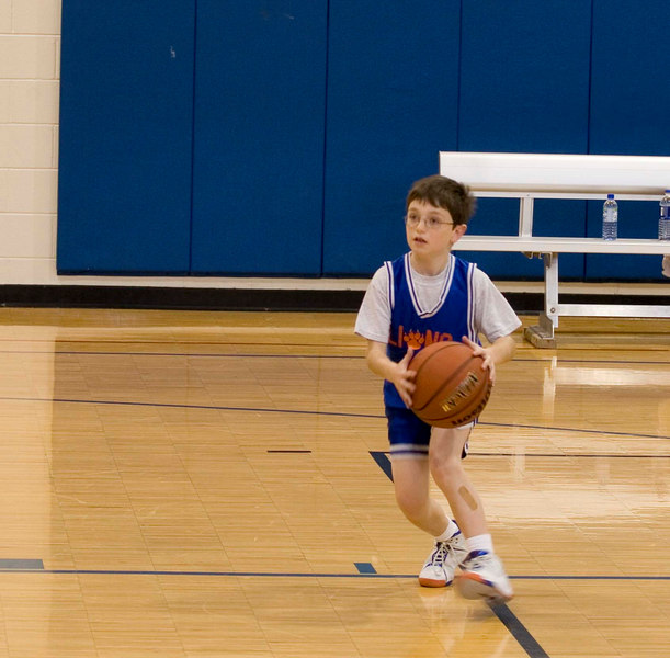 Zack about to shoot.