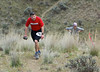 Brandon Williams, Eatonville WA, on the second climb of the 25K