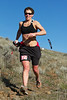 Shawna Wilskey, of Mount Vernon WA, first place women's 50K