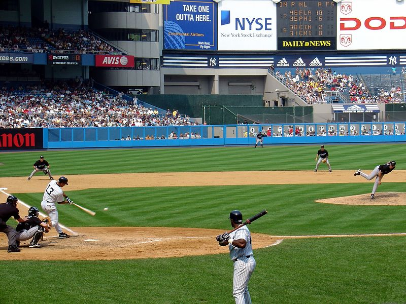 Yankees vs. Blue Jays - July 2004