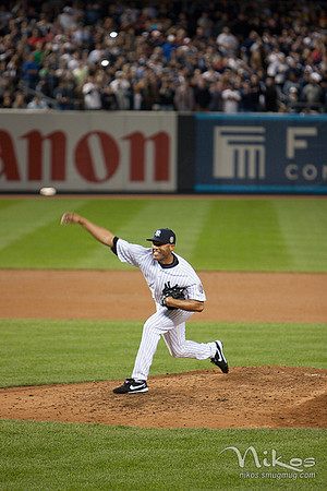 Mariano performed well producing 4 outs