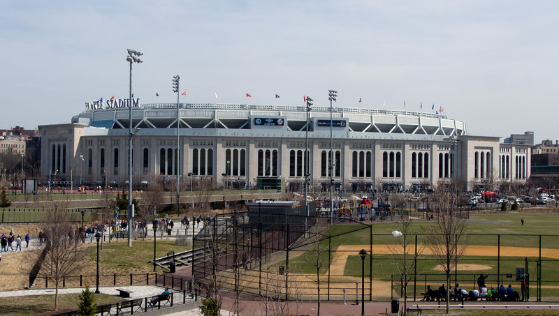 Yankee Stadium on Opening Day 2015