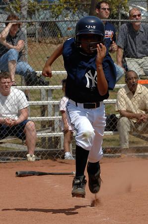 Yankees Youth Baseball 2007