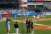 The Yankees honored someone who supported the March of Dimes