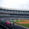 View from our seats in Section 211 during batting practice.