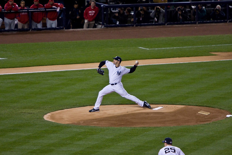 Andy Pettitte First Pitch