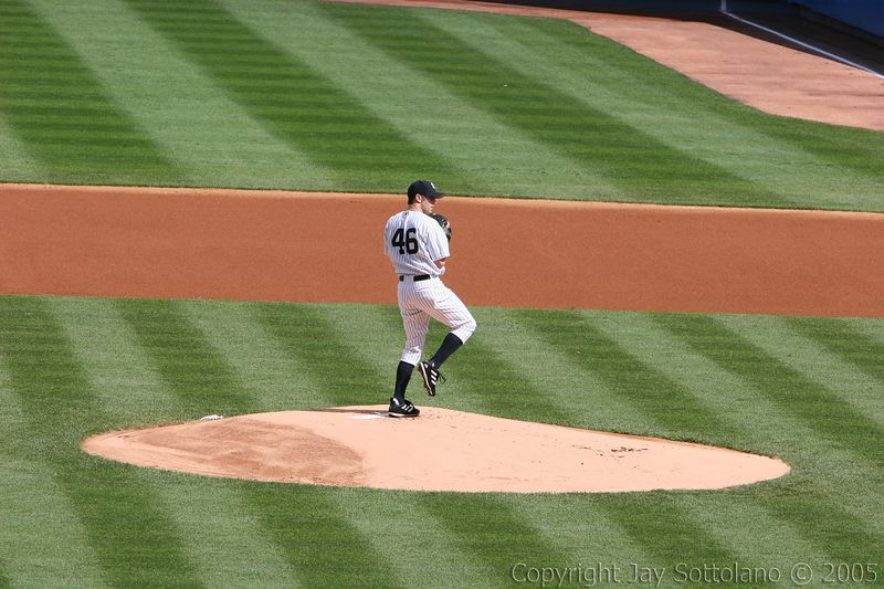 Darrel May's First Yankee Start