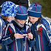 1 km Classic:  Stella, Lili & Marie-Pierre<br /> Parc de la Mauricie, January 8, 2011